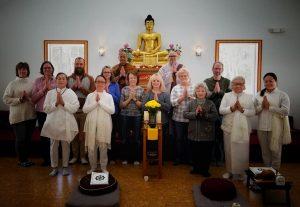 Lao Lane Xang Temple, Day Retreat March 2019, Willington, CT